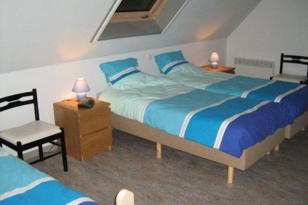 Boerderij Meeuwenoord - België - West-Vlaanderen - 16 personen - slaapkamer