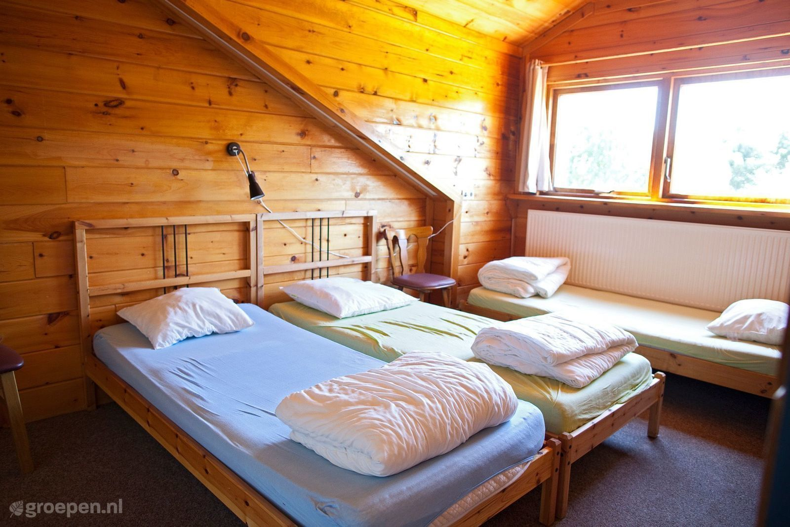 Groepsaccommodatie Klijndijk - Nederland - Drenthe - 38 personen - slaapkamer